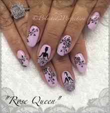 rose queen theme nail art stamping tutorial born pretty store bp