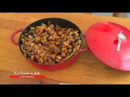 cuisine sicilienne recette recette caponata sicilienne de valérie les carnets de julie la