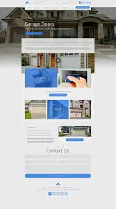 Design Your Garage Door Website Designs For Garage Door Repair Mobile Responsive Templates