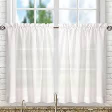 kitchen u0026 tier valances u0026 kitchen curtains you u0027ll love wayfair