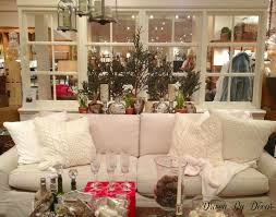 christmas decorations for sofa table pottery barn s holiday décor small dining craft and pottery barn