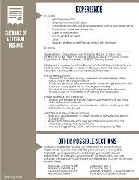 Example Federal Resume by Federal Resume Guide