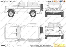 1980 nissan patrol the blueprints com vector drawing nissan patrol gr