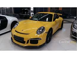 porsche gt3 malaysia porsche 911 2015 gt3 3 8 in selangor automatic coupe yellow for rm