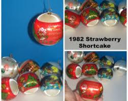 strawberry ornament etsy