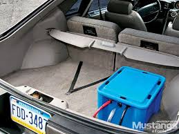 mustang trunk space mdmp 0610 05 z 1990 mustang gt trunk space photo 28581239 1990