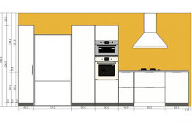 hauteur d un meuble de cuisine meubles hauteur meuble cuisine ikéa meilleure décoration de