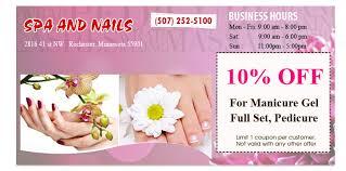nail salon rochester nail salon 55901 spa and nails