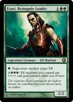 mono green elves deck yeva nature s herald magic 2013 m13 mtg