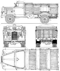 opel blitz the blueprints com blueprints u003e trucks u003e opel u003e opel blitz lkw