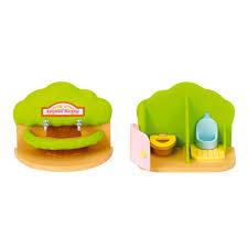 Rainbow Bathroom Accessories by Sylvanian Families Nursery Bathroom Set 11 00 Hamleys For
