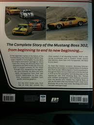 Mustang Boss Horsepower Books Mustang Boss 302 U2013 From Racing Legend To Modern Muscle Car