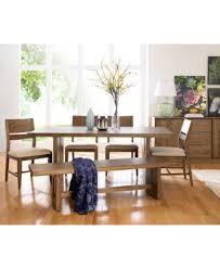 Cheap Dining Room Furniture Athena 6 Pc Dining Set Dining Trestle Table 4 Side Chairs