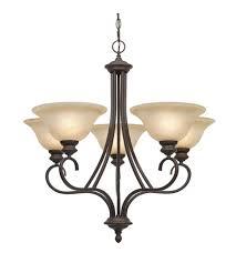 5 light bronze chandelier golden lighting 6005 5 rbz lancaster 5 light 28 inch rubbed bronze