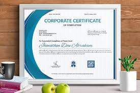 certificate template vol 11 stationery templates creative