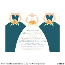 bridesmaid brunch invitations bridesmaid luncheon invitations ryanbradley co