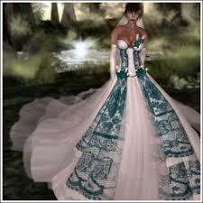 teal wedding dresses second marketplace phenix calista bridal wedding gown