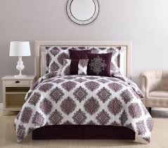 Wine Colored Bedding Sets Wine Gray Reversible Comforter Set