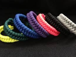 woven survival bracelet images Survival 550 paracord bracelet in fishtail weave your choice jpg