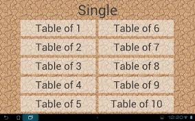 Table Of 4 by Times Tables Android Apps On Google Play