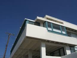 Lovell Beach House Slaapkamers Op De Tweede Verdieping Zijn Verbonden Door Een Gang