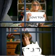Love You Too Meme - love you too ʖ lenny face know your meme