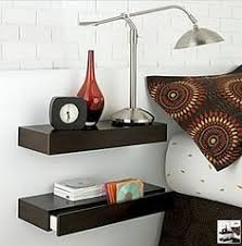 Floating Nightstand Shelf Best Floating Shelves For Nightstands Morespoons 804504a18d65