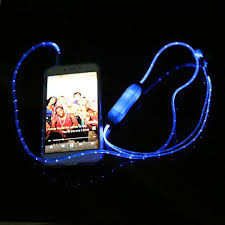 Flashing Light Ringtone Led Earphone Flashing Light U2013 Budaman