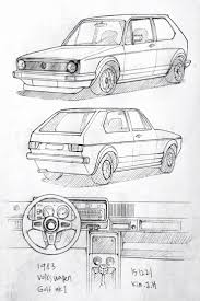 volkswagen bus drawing best 25 car drawings ideas on pinterest drawings of cars