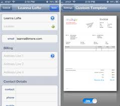 Best Resume Template For Ipad by Best Iphone Invoicing App For Freelancers Imore
