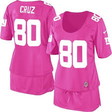ny giants 80 womens breast cancer awareness victor cruz elite