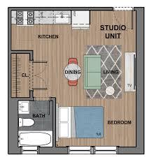 One Room Apartment Floor Plans Studio U0026 One Bedroom Apartments 6300 City Avenue Philadelphia