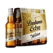 Conhecido Cerveja Brahma Extra Weiss 355ml Caixa com 06 unidades - Empório  #EW13