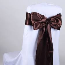 chair sashes satin sash satin chair sashes wholesale bbcrafts