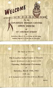 Shop Opening Invitation Card Format Native Canadian Centre First Story Toronto