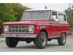 Fords New Bronco 1971 Ford Bronco For Sale On Classiccars Com 11 Available