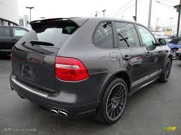 2010 Porsche Cayenne - 2010 lava grey metallic porsche cayenne gts porsche design edition