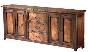 buffet copper furniture handmade western u0026 rustic designs