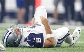 nfl grades week 12 tony romo s injury sinks cowboys for