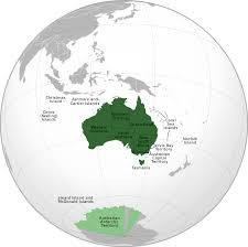 territories of australia map states and territories of australia