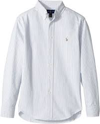 light blue striped polo dress savings on polo ralph lauren kids striped cotton oxford shirt big
