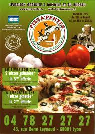 au bureau lyon pizza pentes livraison gratuite de pizzas à domicile et au