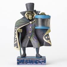 haunted mansion hat box ghost jim shore disney traditions figure