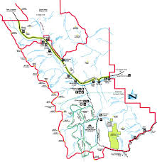 Jasper National Park Canada Map by Maps