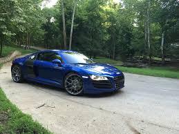 Audi R8 Manual - 2009 audi r8 v10 6 speed manual sepang blue hre stasis
