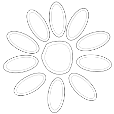 scout daisy petals coloring page from scouts category