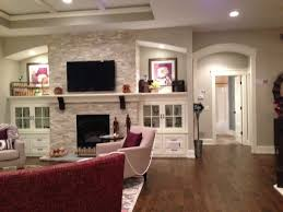 Built In Bookshelves Around Fireplace by Cabinets Around The Fireplace Dream House Pinterest Built
