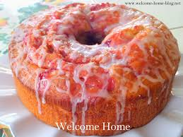 welcome home blog strawberry swirl pound cake