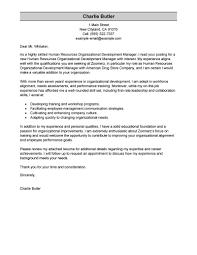 one organization best organizational development cover letter exles livecareer
