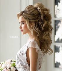 bridal hair for oval faces 42 half up half down wedding hairstyles ideas weddings 30th and